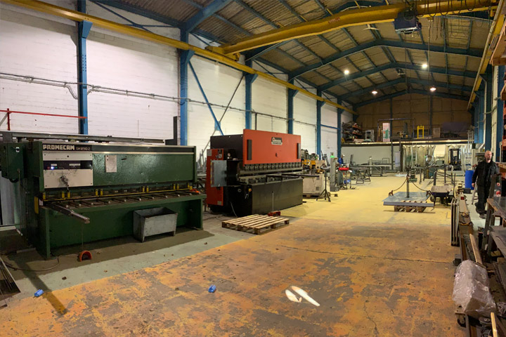 Nous disposons d'un atelier de 700m² dans la Zone industrielle Rouvroy-Morcourt à Saint-Quentin.
