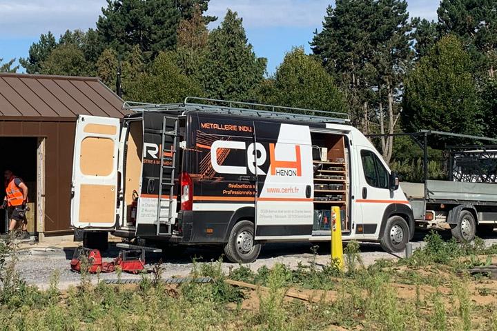 Remorques - Outils de manutention - Racks pour le transport de produits