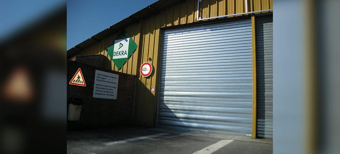 Portes souples rapides extérieures
