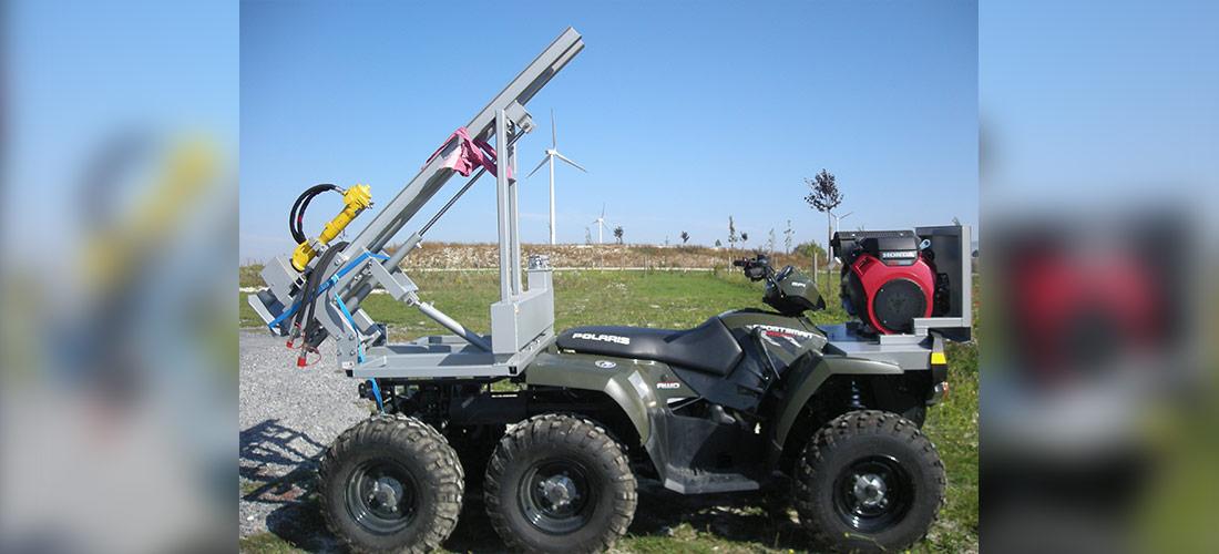 Machines spéciales, principalement pour les éléments mécaniques et pneumatiques, conception, fabrication et modification